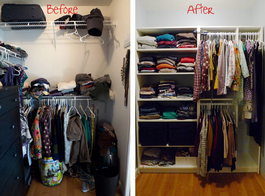 Nice Billy Bookcase Closet Organizer Part - 3: HersBeforeAfter